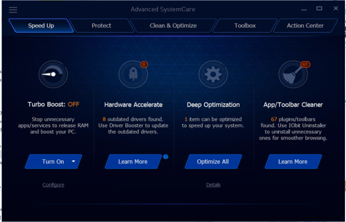 Advaced SystemCare Patch & Keygen Free Download