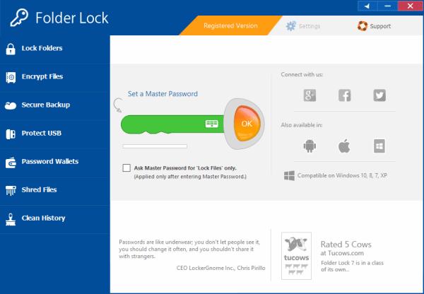 Folder Lock Crack & License Key Tested Free Download
