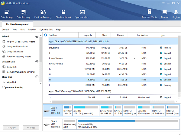 MiniTool Partition Wizard Patch & License Key Full Free Download