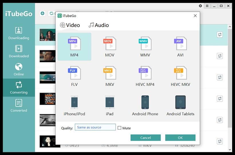 iTubeGo You Tube Downloader Patch & Keygen Tested Free Download