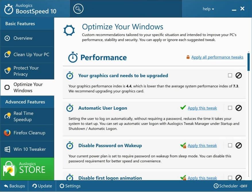 Auslogics Boostspeed Activator & Serial Key Free Download