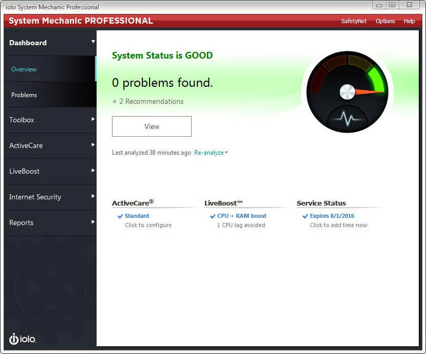 System Mechanic Crack & Keygen Full Download
