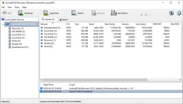Active@ File Recovery Patch & Serial Number Tested Free Download