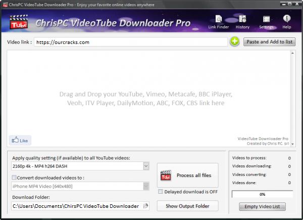 ChrisPC VideoTube Downloader Pro Full Patch Tested Free Download