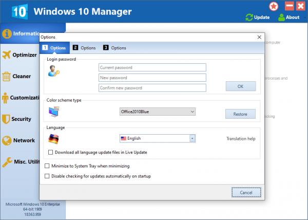 Yamicsoft Windows 10 Manager Full Keygen Latest Free Download